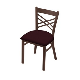 "620 Catalina 18"" Chair with Bronze Finish and Canter Bordeaux Seat"