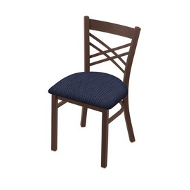 """620 Catalina 18"""" Chair with Bronze Finish and Graph Anchor Seat"""