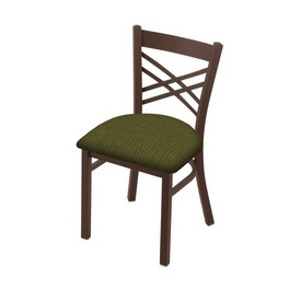 """620 Catalina 18"""" Chair with Bronze Finish and Graph Parrot Seat"""