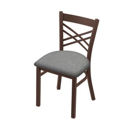 """620 Catalina 18"""" Chair with Bronze Finish and Graph Alpine Seat"""