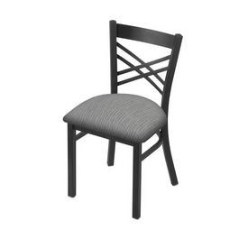 "620 Catalina 18"" Chair with Pewter Finish and Graph Alpine Seat"