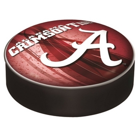 "Alabama Bar Stool Seat Cover By Holland Covers (Script ""A"") Logo"