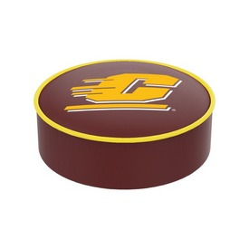 Central Michigan Bar Stool Seat Cover By HBS