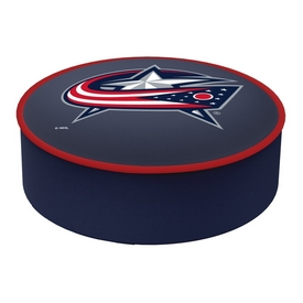 Columbus Blue Jackets Bar Stool Seat Cover By HBS