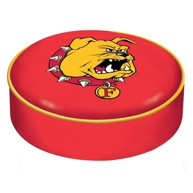 Ferris State Bar Stool Seat Cover By HBS