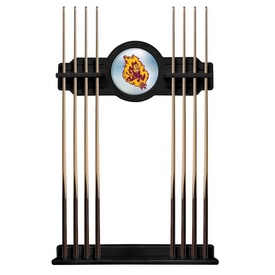 Arizona State Cue Rack with Sparky Logo by Holland Bar Stool