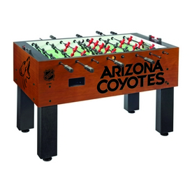 Arizona Coyotes Foosball Table By Holland Bar Stool Co.
