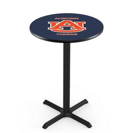 L211 - Black Wrinkle Auburn Pub Table by Holland Bar Stool Co.