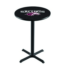 L211 - Black Wrinkle Southern Illinois Pub Table by Holland Bar Stool Co.