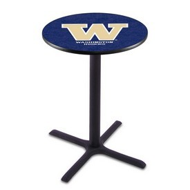 L211 - Black Wrinkle Washington Pub Table by Holland Bar Stool Co.