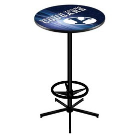 L216 - Brigham Young Pub Table by Holland Bar Stool Co.