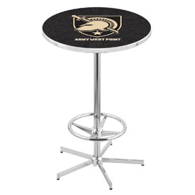 L216 - US Military Academy (ARMY) Pub Table by Holland Bar Stool Co.