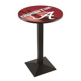 L217 - Alabama Pub Table by Holland Bar Stool Co. (ALogo)