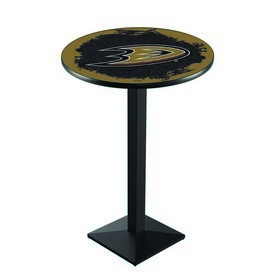 L217 - Anaheim Ducks Pub Table by Holland Bar Stool Co.