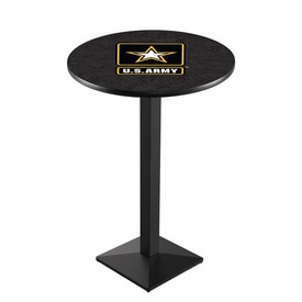 L217 - U.S. Army Pub Table by Holland Bar Stool Co.