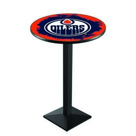 L217 - Edmonton Oilers Pub Table by Holland Bar Stool Co.