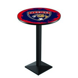 L217 - Florida Panthers Pub Table by Holland Bar Stool Co.