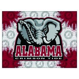 Alabama Logo Canvas by Holland Bar Stool Company