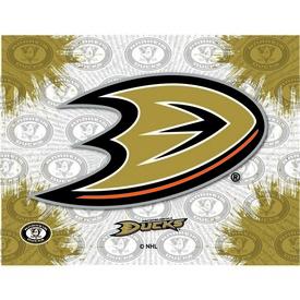 Anaheim Ducks Logo Canvas by Holland Bar Stool Company