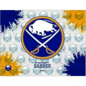 Buffalo Sabres Logo Canvas by Holland Bar Stool Company