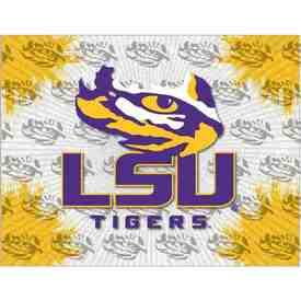 Louisiana State Logo Canvas by Holland Bar Stool Company