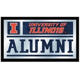 Illinois Alumni Mirror by Holland Bar Stool Co.