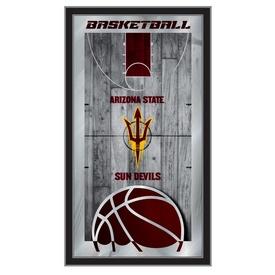 "Arizona State 15"" x 26"" Basketball Mirror by Holland Bar Stool Company"