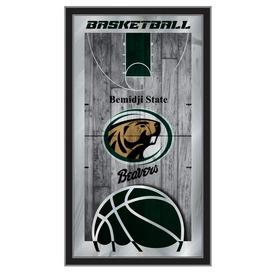 "Bemidji State 15"" x 26"" Basketball Mirror by Holland Bar Stool Company"