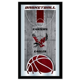 "Eastern Washington 15"" x 26"" Basketball Mirror by Holland Bar Stool Company"