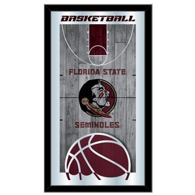 "Florida State 15"" x 26"" Basketball Mirror by Holland Bar Stool Company"