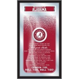"Alabama 26"" x 15"" Fight Song Mirror by Holland Bar Stool Company"