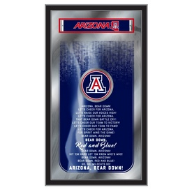 "Arizona 26"" x 15"" Fight Song Mirror by Holland Bar Stool Company"