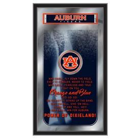 "Auburn 26"" x 15"" Fight Song Mirror by Holland Bar Stool Company"