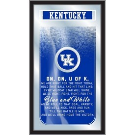 "Kentucky 26"" x 15"" Fight Song Mirror by Holland Bar Stool Company"