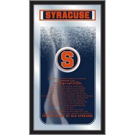 "Syracuse 26"" x 15"" Fight Song Mirror by Holland Bar Stool Company"