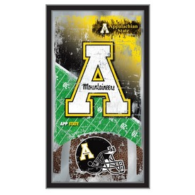 "Appalachian State 15"" x 26"" Football Mirror by Holland Bar Stool Company"