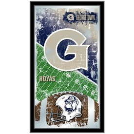 "Georgetown 15"" x 26"" Football Mirror by Holland Bar Stool Company"
