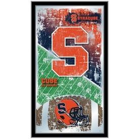 "Syracuse 15"" x 26"" Football Mirror by Holland Bar Stool Company"