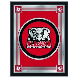 "Alabama 17"" x 22"" Logo Mirror by Holland Bar Stool Company"