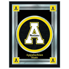 "Appalachian State 17"" x 22"" Logo Mirror by Holland Bar Stool Company"