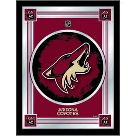 """Arizona Coyotes 17"""" x 22"""" Logo Mirror by Holland Bar Stool Company"""