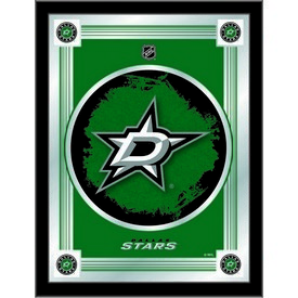 "Dallas Stars 17"" x 22"" Logo Mirror by Holland Bar Stool Company"