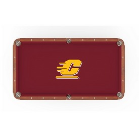 Central Michigan Pool Table Cloth by HBS