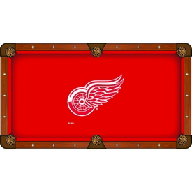 Detroit Red Wings Pool Table Cloth by HBS