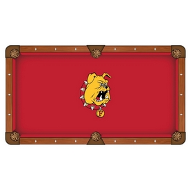 Ferris State Pool Table Cloth by HBS