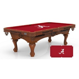 Alabama 8' Pool Table by Holland Bar Stool Co.