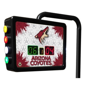 Arizona Coyotes Electronic Shuffleboard Scoring Unit By Holland Bar Stool Co.