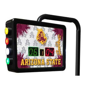 Arizona State Electronic Shuffleboard Scoring Unit With Sparky Logo By Holland Bar Stool Co.