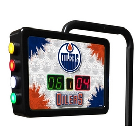 Edmonton Oilers Electronic Shuffleboard Scoring Unit By Holland Bar Stool Co.