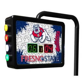 Fresno State Electronic Shuffleboard Scoring Unit By Holland Bar Stool Co.